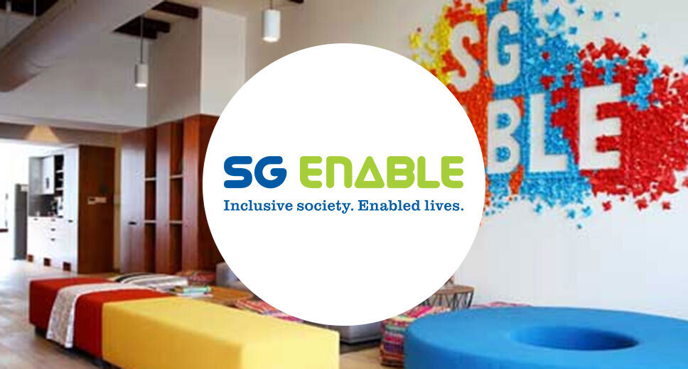 SG Enable Inclusive Society. Enabled Lives. logo